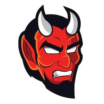 Logo de la mascotte du diable