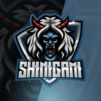 Logo de la mascotte du sport shinigami