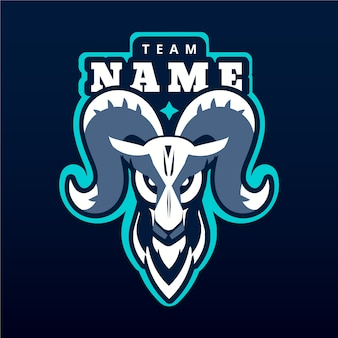 Logo de la mascotte de l'équipe