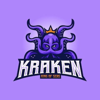 Logo de la mascotte kraken