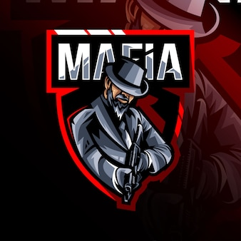 Logo de la mascotte de la mafia