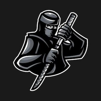 Logo de la mascotte ninja