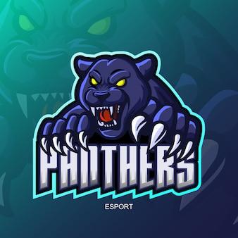 Logo mascotte panthère