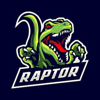 Logo de la mascotte raptor