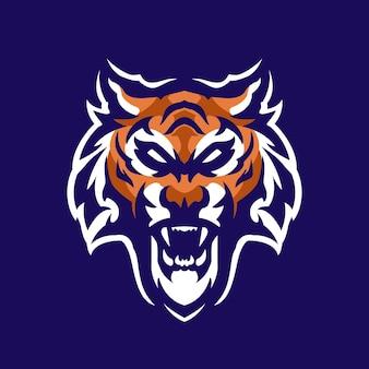 Logo mascotte tigres