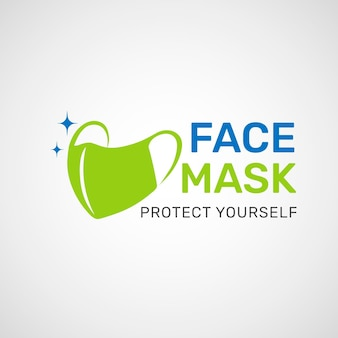 Logo de masque facial