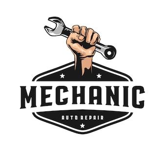 Logo de mécanicien