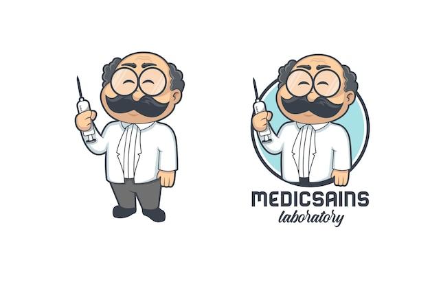 Logo de médecin professionnel