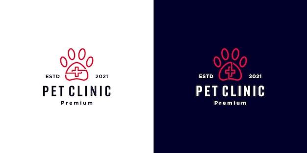 Logo médical de la clinique animal familier