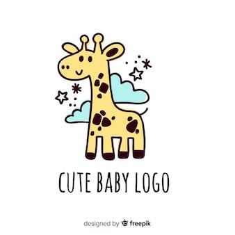 Logo mignon bébé