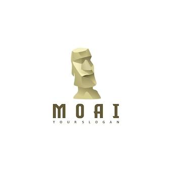 Logo moai pour référence