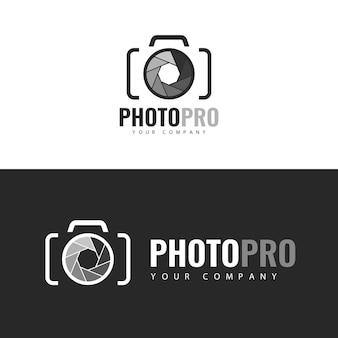Logo de modèle photopro.