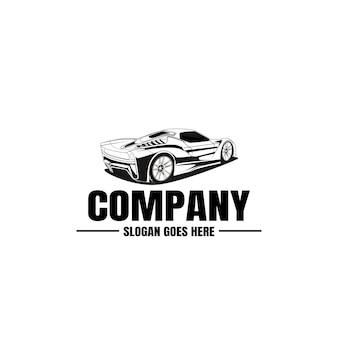 Logo modèle de véhicule.