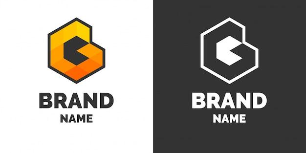 Logo moderne et signez la lettre g.