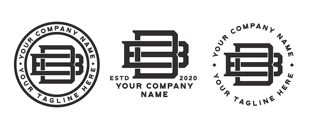 Logo monogramme bb 3