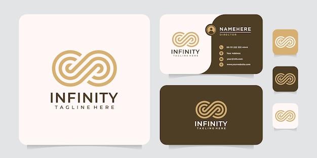 Logo monogramme infini