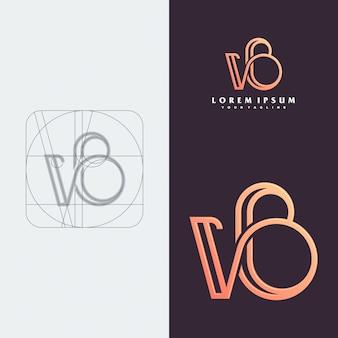 Logo monogramme vb.
