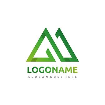 Logo de la montagne infinie