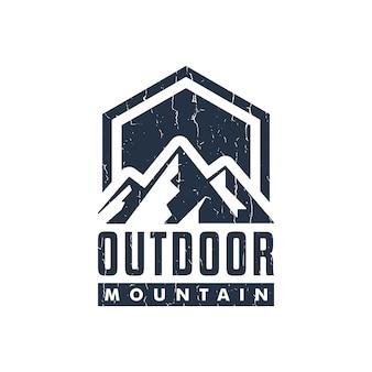 Logo de montagne