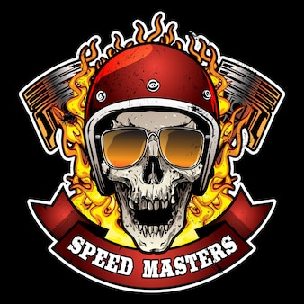 Logo de moto vintage