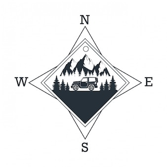 Logo moutain dventure