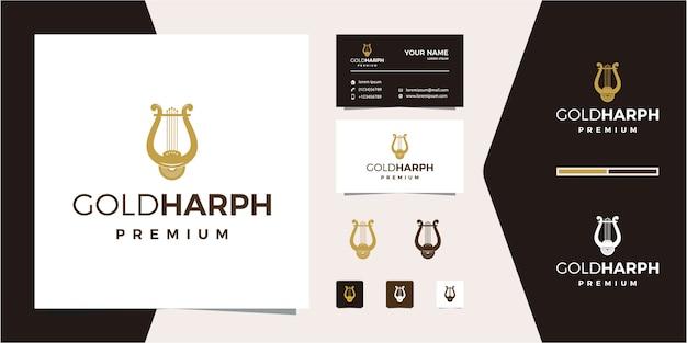 Logo de la musique de la harpe dorée