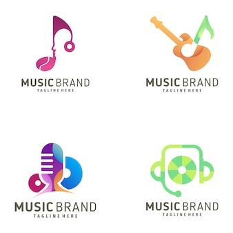 Logo de musique et icône