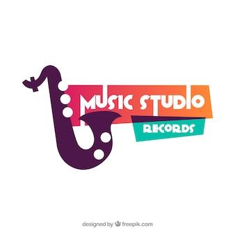 Logo de musique moderne