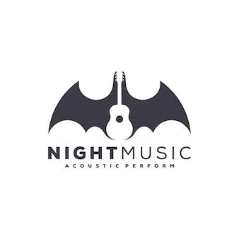 Logo de musique de nuit