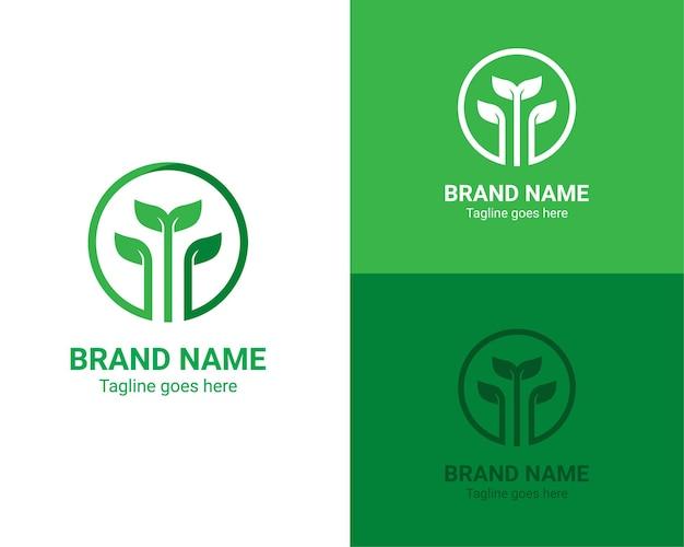 Logo de la nature en pleine croissance