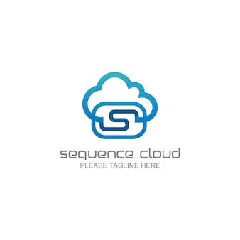 Logo de nuage de séquence