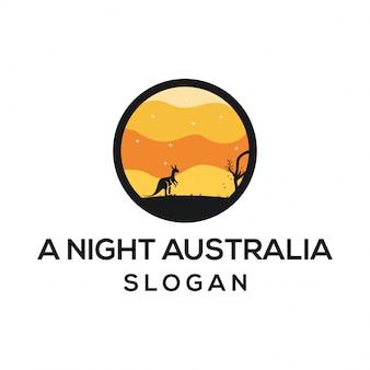Un logo de nuit en australie