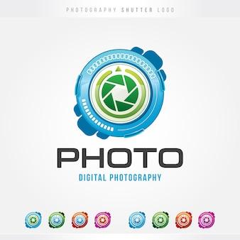Logo d'obturateur de photographie