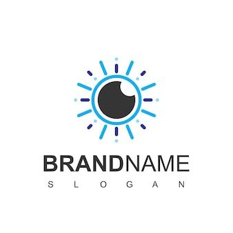 Logo d'oeil vectoriel
