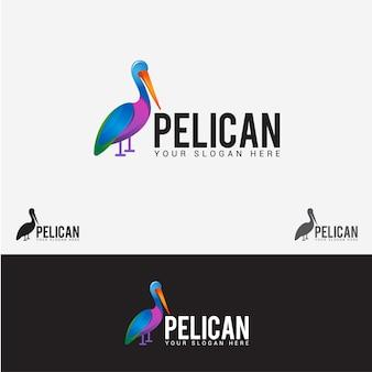 Logo oiseau pélican