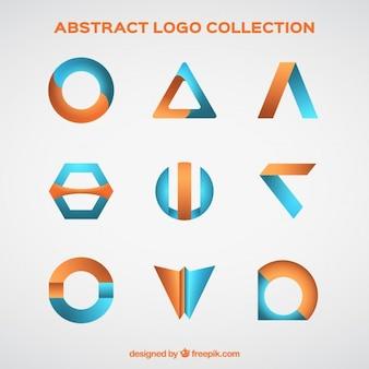 Logo ollection de formes abstraites