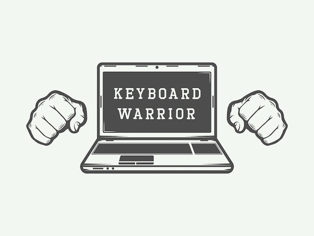 Logo d'ordinateur portable, emblème