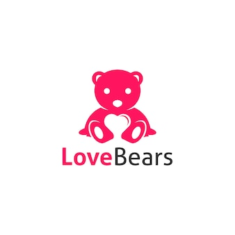 Logo ours d'amour