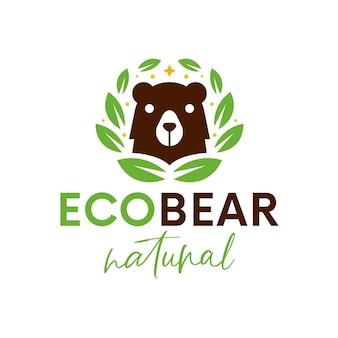 Logo de l'ours eco