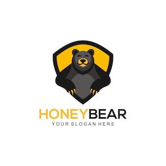 Logo ours en miel