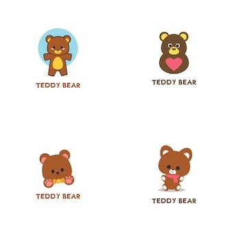 Logo ours en peluche
