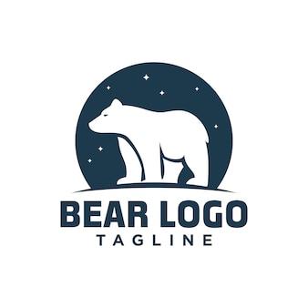 Logo de l'ours polaire