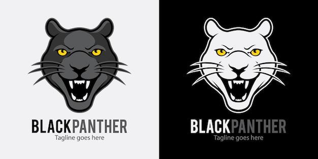 Logo panthère noire