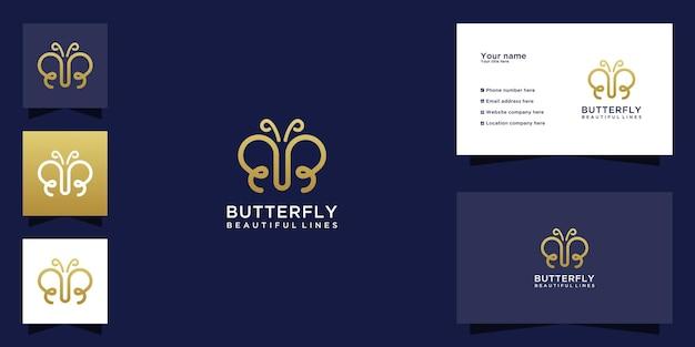 Logo papillon avec lettre initiale bb et concept d'art en ligne créatif