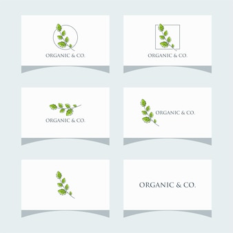 Logo de paquet organique