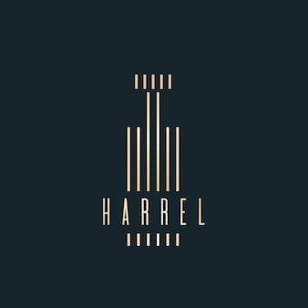 Logo de parfum de luxe
