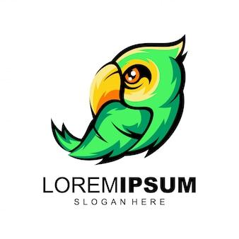 Logo de perroquet
