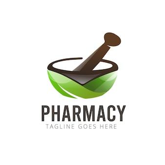 Logo de la pharmacie à base de plantes