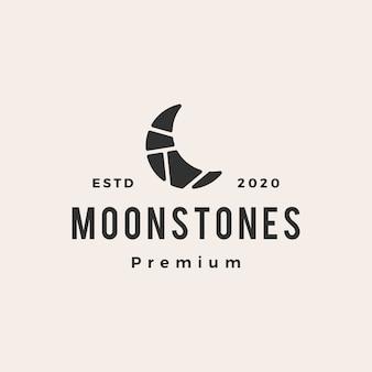 Logo de pierres de lune