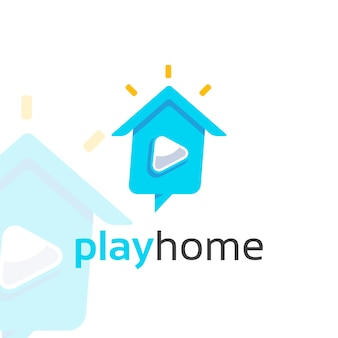 Logo play home